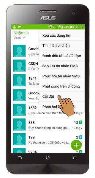 Cài đặt lại điện thoại Samsung hoặc hệ điều hành Android bị mất chế độ rung