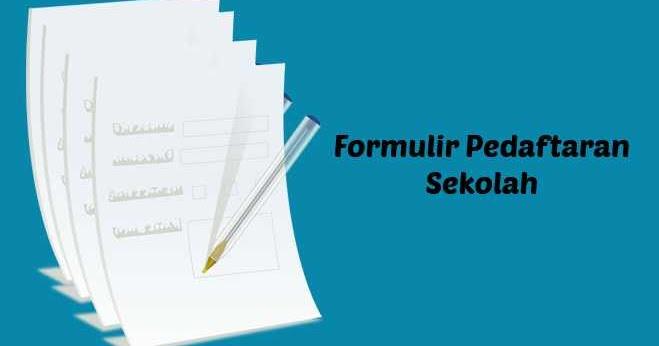 Jenis Jenis Formulir Dalam Bahasa Inggris Beserta Contohnya