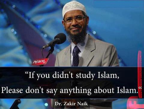 Dr Zakir Naik Quotes  Articles about Islam