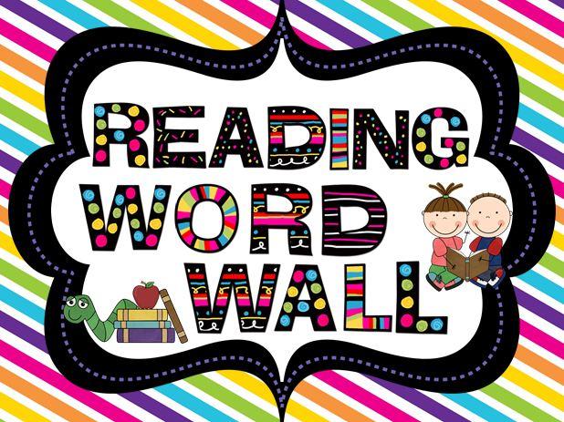 Word Wall Signs Classroom Freebies