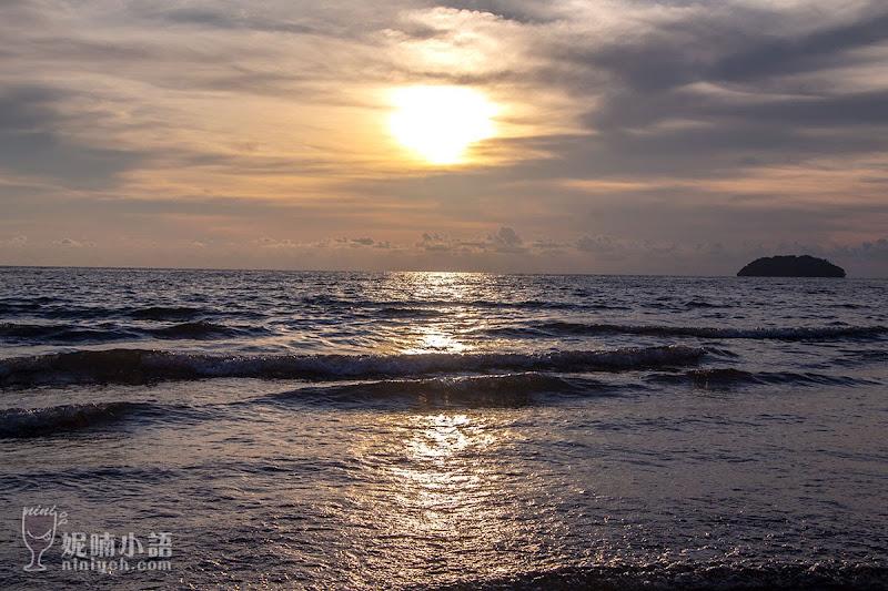 【沙巴亞庇景點】丹絨亞路沙灘Tanjung Aru Beach。全球最美三大落日觀測地