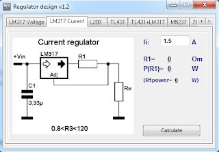 Screensshot 2 : Regulator Design