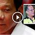 "Pres. Duterte  to  De Lima and Aquino  ""Hindi pa kayo abswelto sa KASO"""