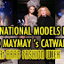 International Models React to MAYMAY ENTRATA Catwalk in Arab Fashion Show Dubai