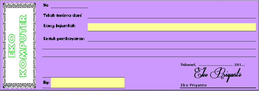 Download contoh faktur, surat jalan dan kwitansi | majalengka.