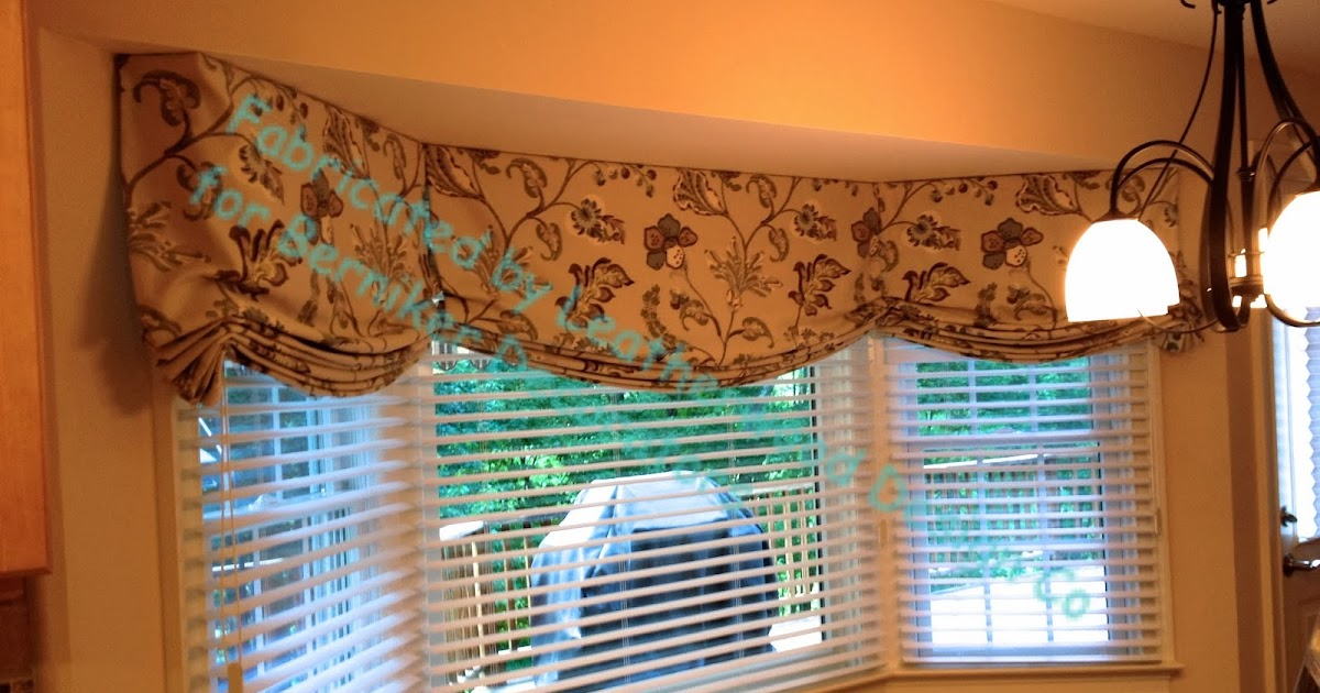 Leatherwood Design Co Bay Window Relaxed Romans