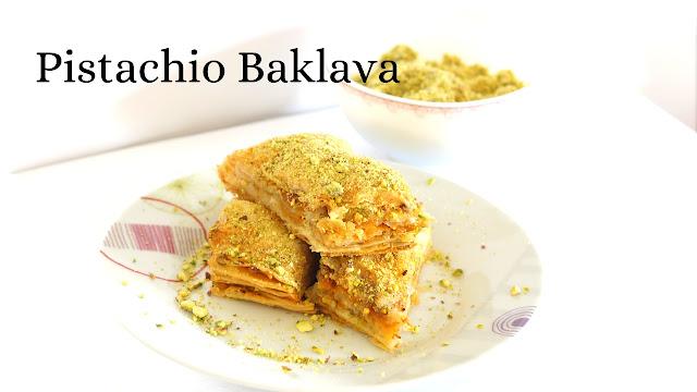 Baklava - Pistachio Baklava