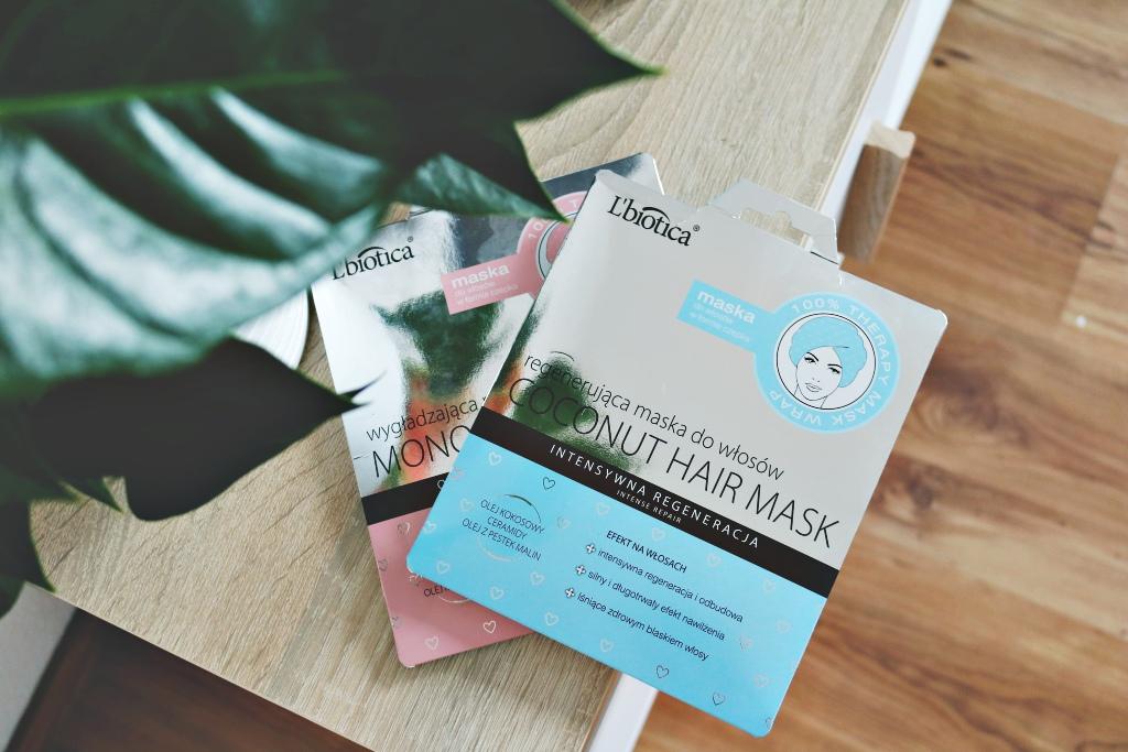 TEST / MASKA DO WŁOSÓW W FORMIE CZEPKU / L'BIOTICA / 100% Therapy Mask Wrap