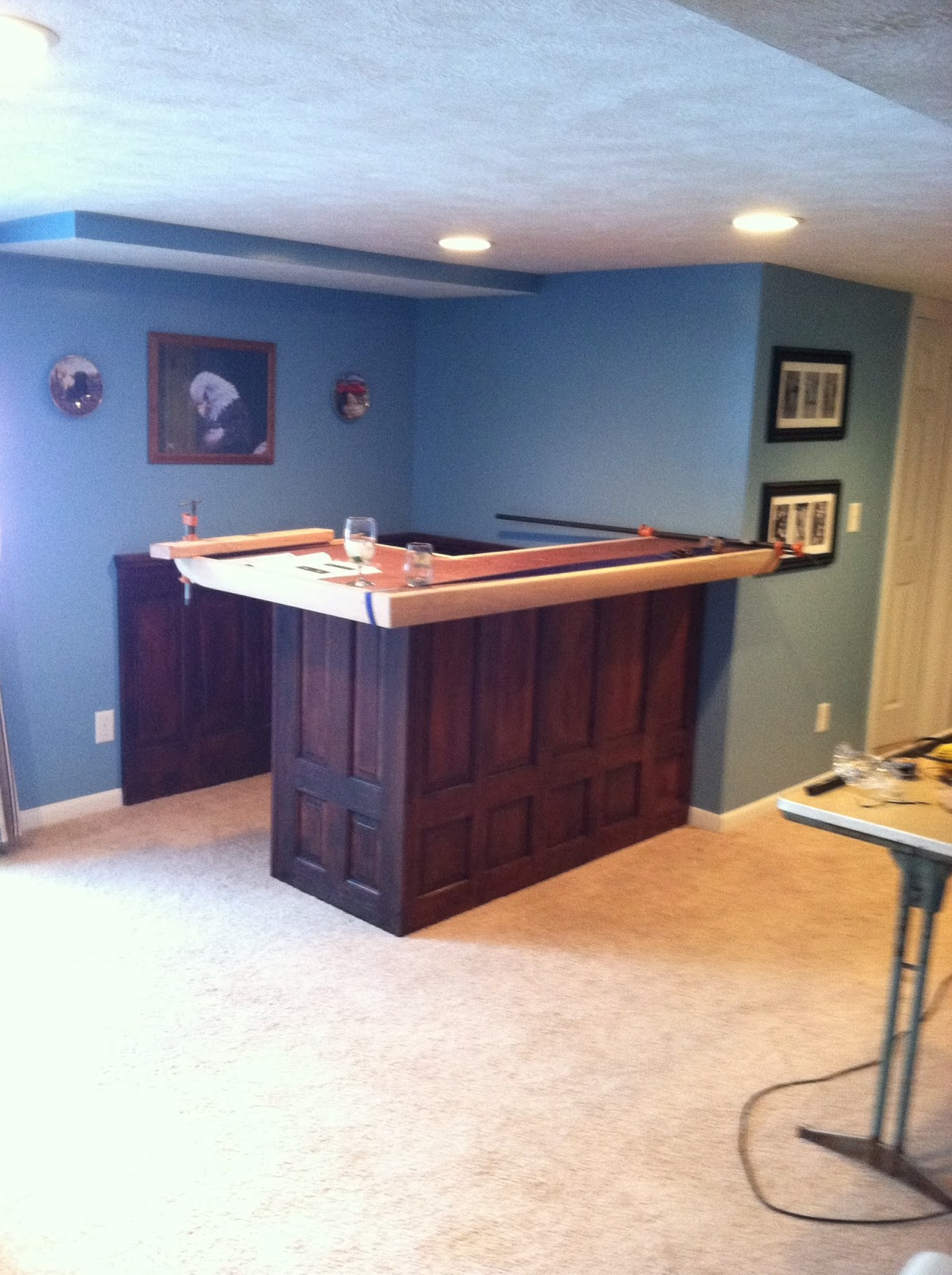 Roxanne recycles how to build a home bar on a budget - Building a new home ideas ...