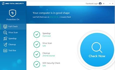 تحميل برنامج الحماية من الفيروسات Download 360 Total Security