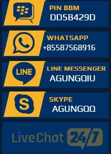 AGUNGQQ Agen DominoQQ, BandarQ, Capsa Susun, QQ Online Terpercaya di Indonesia