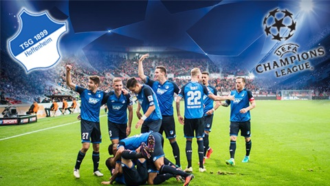 Các cầu thủ của đội tuyển Hoffenheim