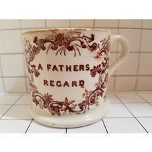 Tell a Friend Sell Here Report Listing Meet The Seller GraciousJo (0) GraciousJo Member For 1 Month 11 Days Recent Activity Fri 16 Feb 2018 01:05 (EST) Location West Boutiful, Utah, United States All About Feedback For Sale Follow Child's Staffordshire Mug Antique reads A Father's Regard - Eliza on the back