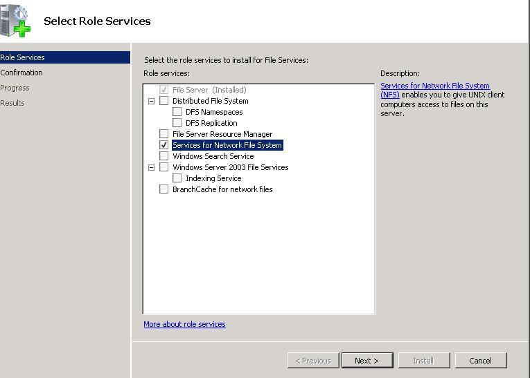 Let linux read/write ntfs of windows 2003.
