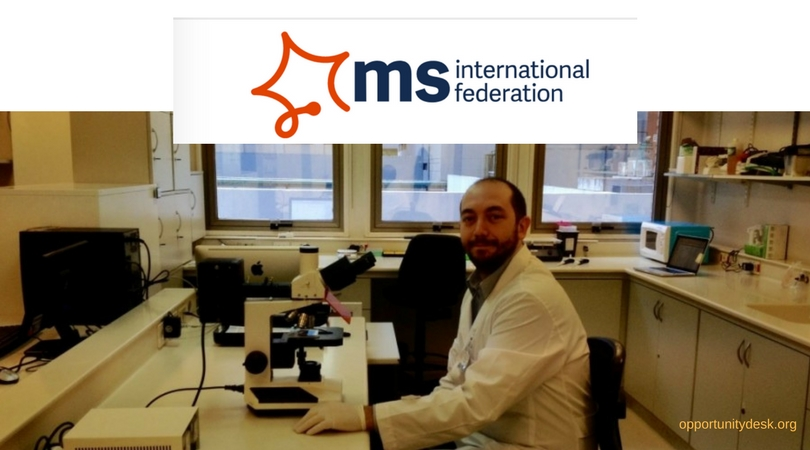 MSIF McDonald Fellowship Programme 2019 for Researchers (Up