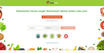 HappyFresh : Cara Belanja Kebutuhan Bulanan Secara Online