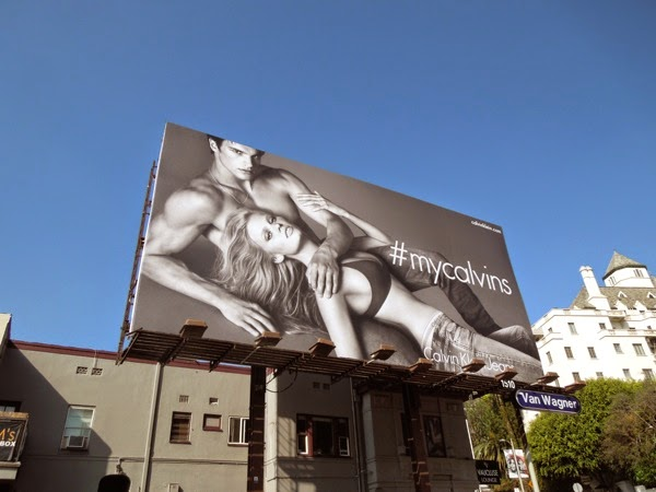 Sexy My Calvins billboard Sunset Strip