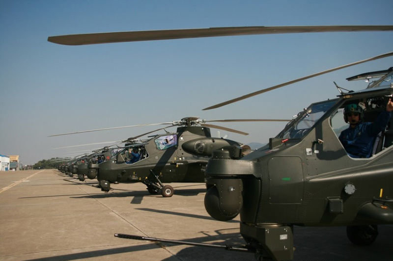 China Delivers WZ-10 Attack Helicopters to ArmyDefenceTalk