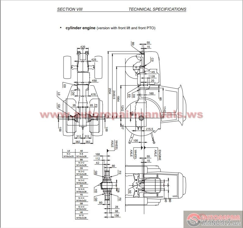 Deutz Fahr Agrokid 30 40 50 Tractor Service Repair Manual