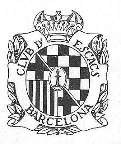 Emblema del Club de Ajedrez Barcelona