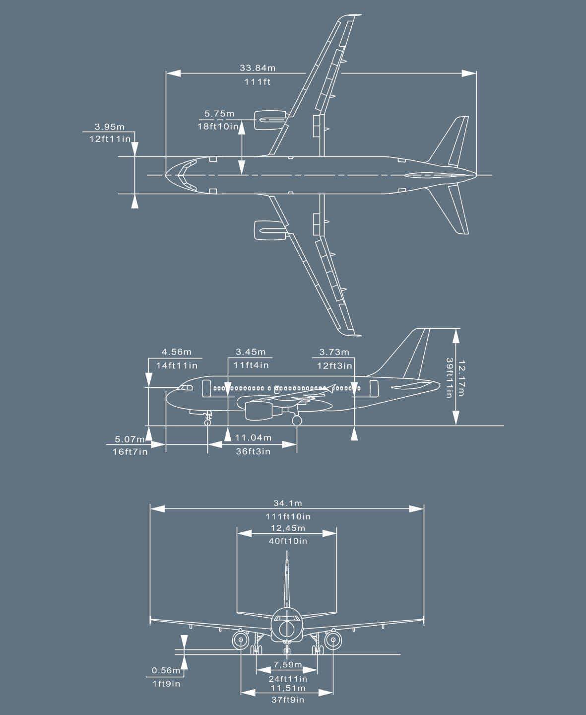 A320F technical description: AIRCRAFT GENERAL