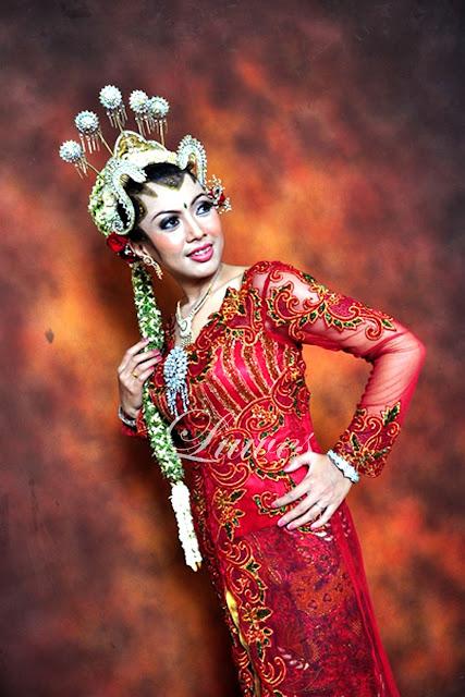 Makeup pengantin adat jawa paes ageng jogja modifikasi
