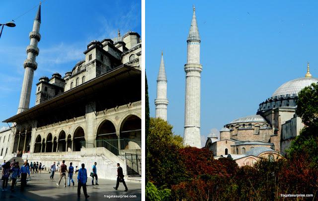 Mesquita Nova e Mesquita Azul, Istambul