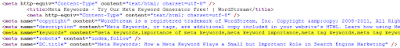 kiem tien online, meta keyword, seo web top