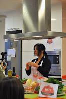 Taller de Mireia Anglada con los ganadores del concurso recetas sanas