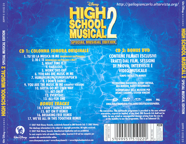 Music Me Are High Sharpay You School Musical 2