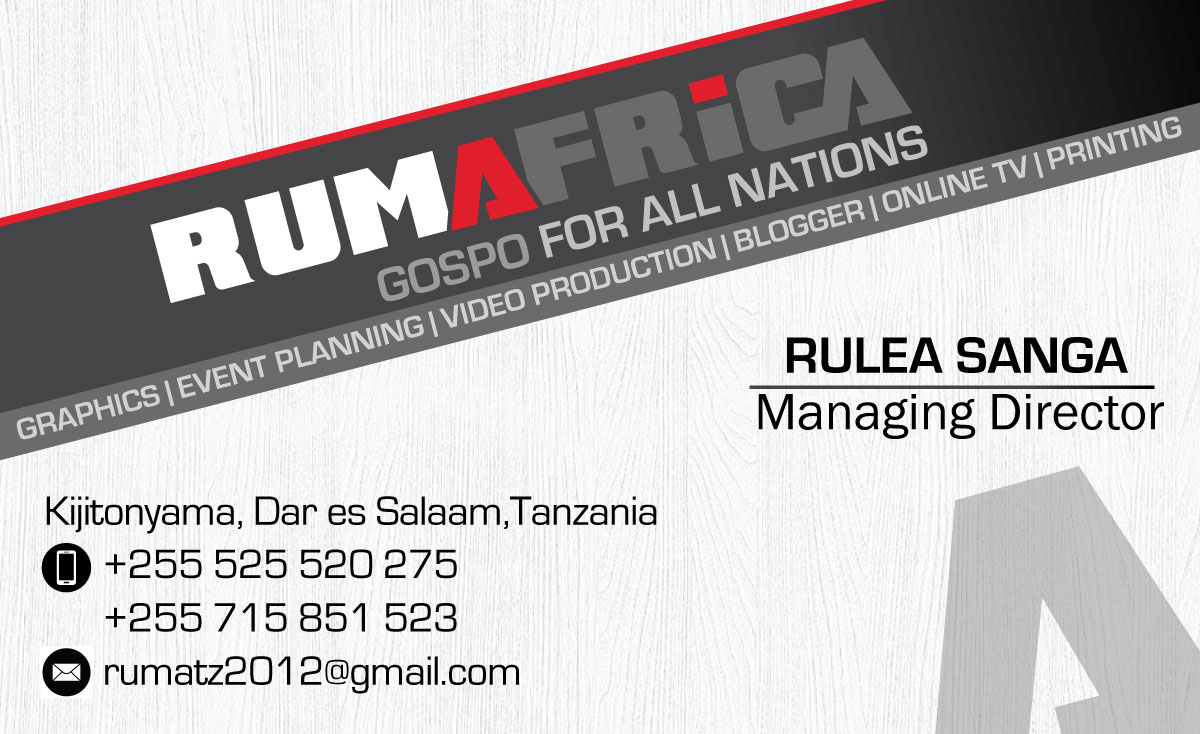 RUMAFRICA CONTACTS