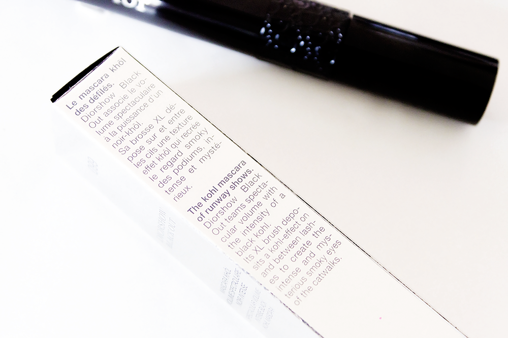 Dior Diorshow Black Out Mascara review