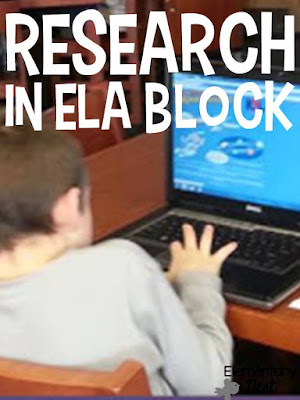 Using our open library hours to incorporate research in the ELA block- learn how you can tie research into your ELA block