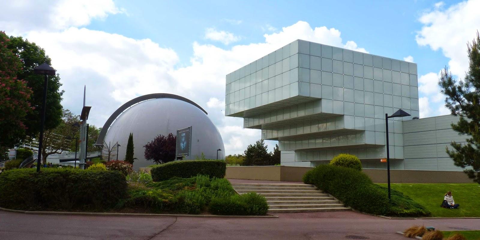 Edificios imposibles de Futuroscope.