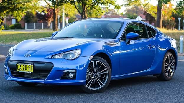 Subaru BRZ được công ty Subaru Việt Nam nhập