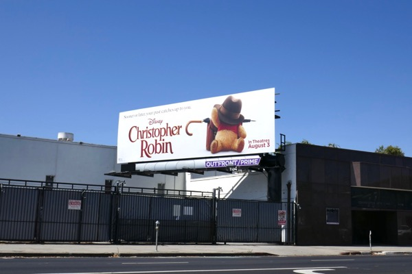 Christopher Robin billboard
