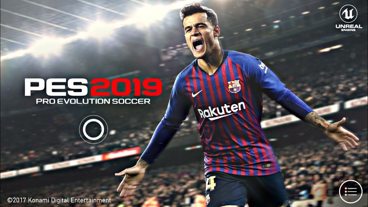 Pro Evolution Soccer 2019 Mobile Official Konami Android - IOS - PES