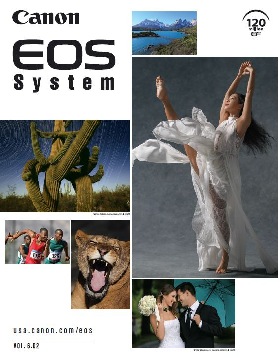 Download the Canon EOS Camera System PDF Brochure Vol 6.02