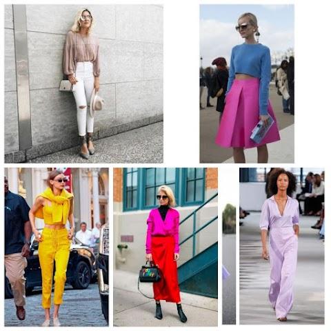 Trend :As cores do verão 2019