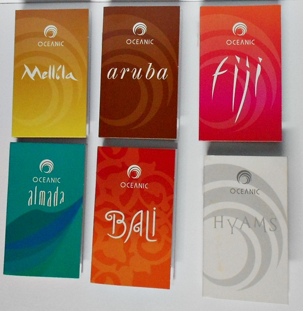 amostras perfumes femininos oceanic