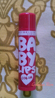 Maybelline Baby lips Spiced up in Tropical Punch Review