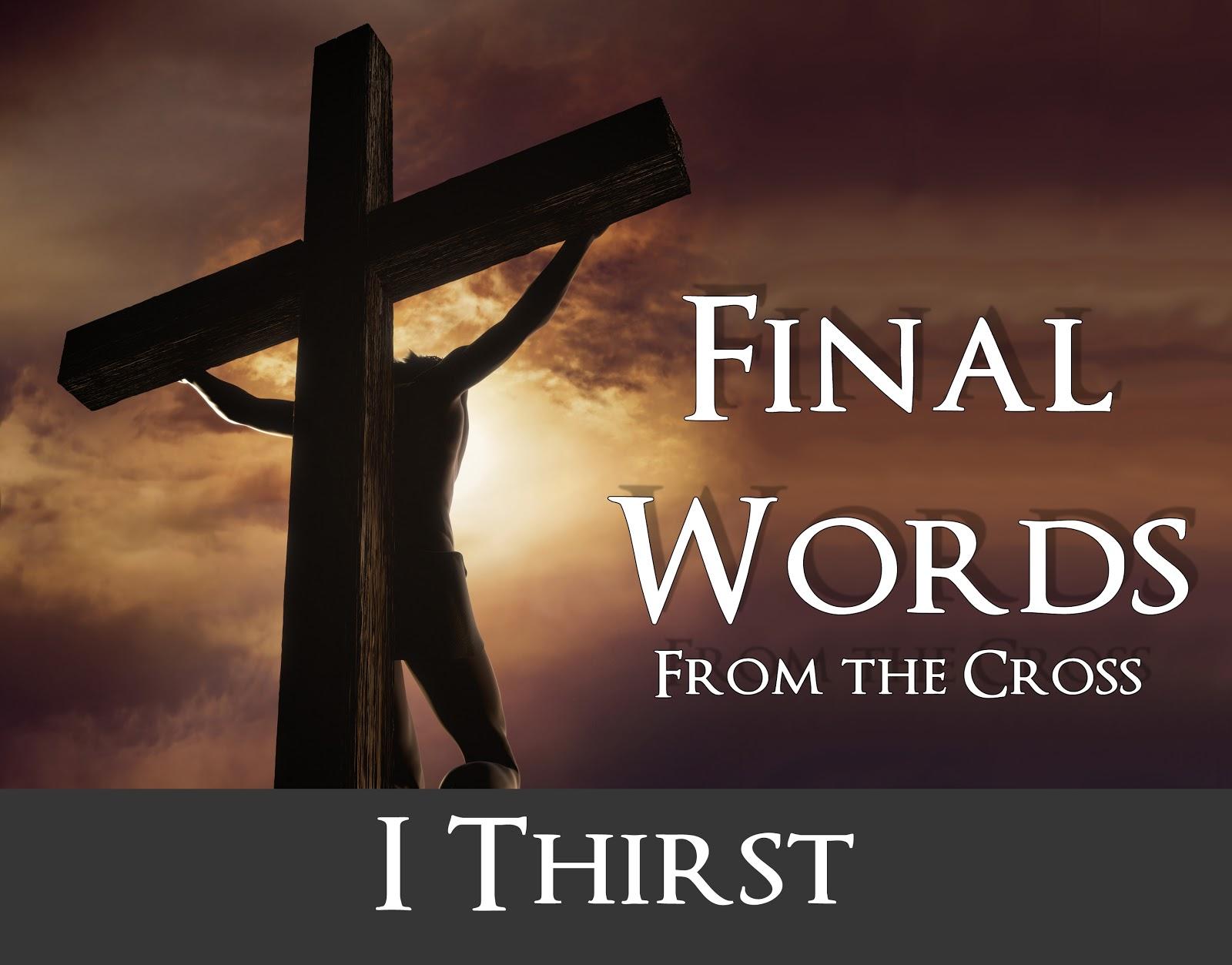 Sayings of Jesus on the cross