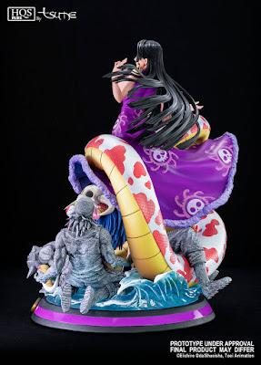 "Figuras: Espectacular figura de Boa Hancock HQS+ de ""One Piece"" - Tsume Art"