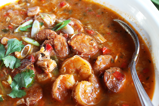 Sausage with Seafood Gumbo Recipe