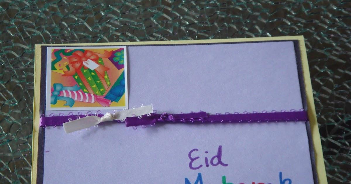 crafting fun with hamna eid cards