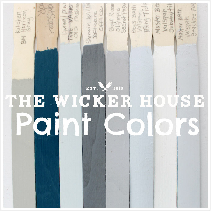 How i painted our high ceilings the wicker house - Wicker furniture paint colors ...