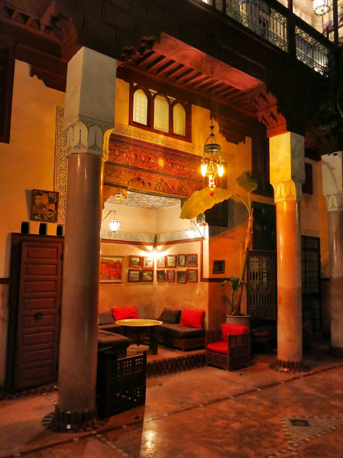 Riad Chorfa i Marrakesh
