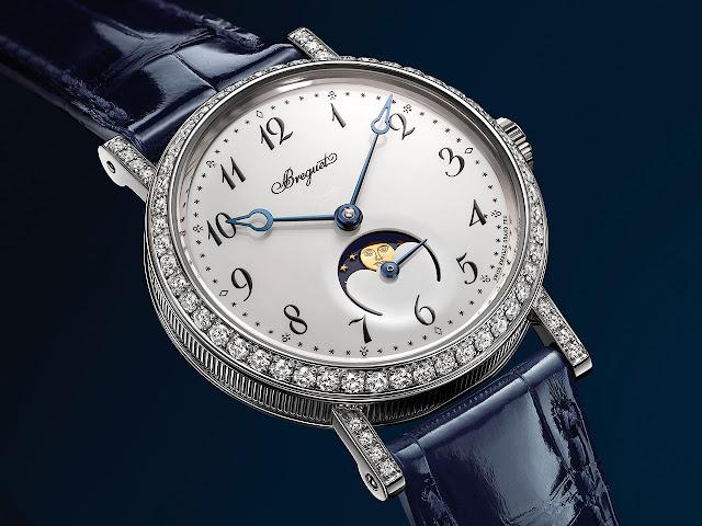 Breguet Classique Phase de Lune Dame 9088 automatic watch