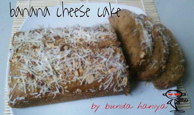 Resep Cake Keju Enak: Resep Cake Pisang Keju Enak