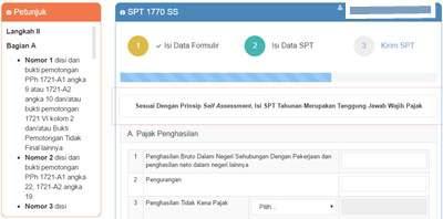 Daftar e filing untuk lapor pajak online SPT